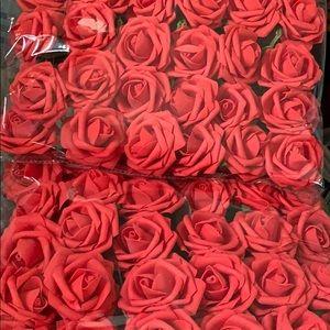 New Red Roses 60 total. Feel like velvet